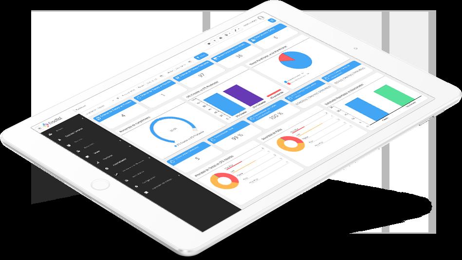 Fracttal Asset Cloud en el Tablet